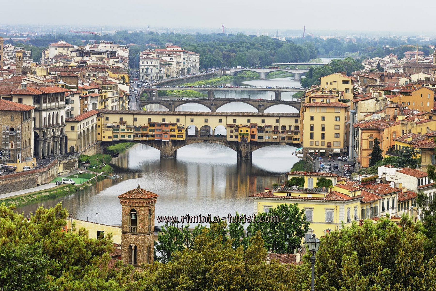 City Of Florence: Guided Daily Tours To Other Towns From Rimini