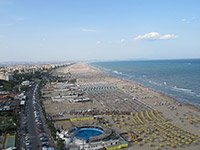 Beaches in Rimini